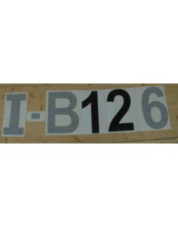 Numeri e lettere per ULM