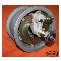 BRAKED WHEEL 6 INCH ECO COMPLETE